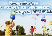 Viver na alegria de Deus