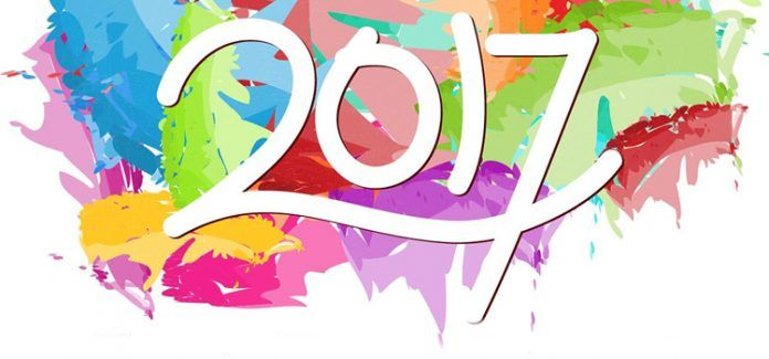 Ano novo 2017 - Happy New Year