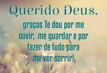 Agradecer a Deus todos dias