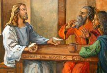 A experiência dos discípulos de Emaús - Fica conosco Senhor