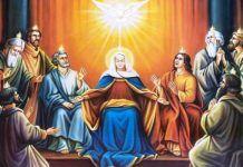 Pentecostes, a chegada do Espírito Santo