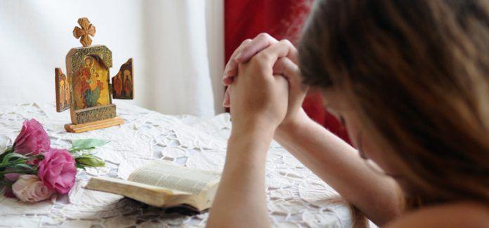 Uma dica simples para evitar distrações durante a oração