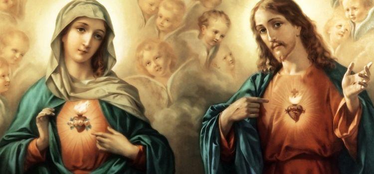 A devoção ao Coração de Jesus e o Coração de Maria