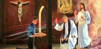 A confissão é o caminho que nos aproxima de Deus