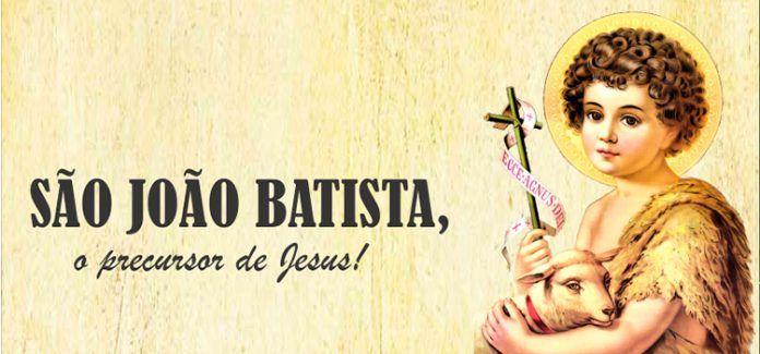 São jopão Batista Profeta do Altíssimo