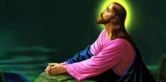 jesus rezabdo a oração do pai nosso