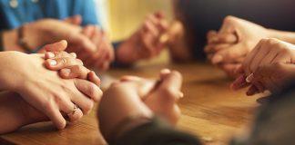 fé união e confiança