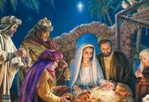 O Menino Jesus e o Papai Noel