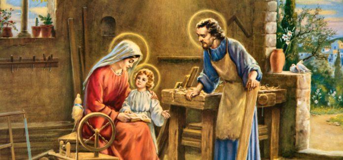 Sagrada família, Jesus Maria e José