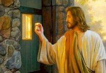 Jesus bate a porta e quer entrar em sua casa