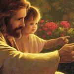 amor de Jesus e as crianças