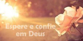 Não espere das pessoas aquilo que só Deus pode fazer por você