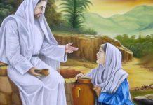 encontro da samaritana com Jesus