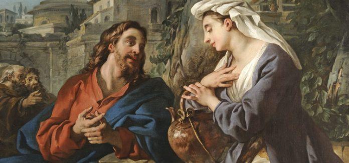 encontro de Jesus com a samaritana