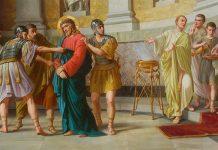 jesus é preso e condenado