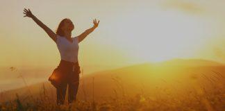 feliicidade vem da paz e comunhão com Deus