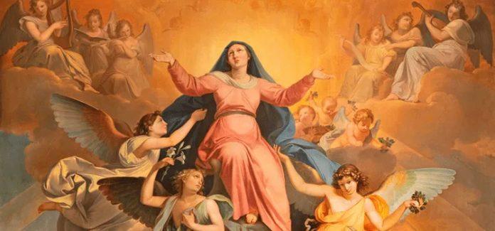 assunção de Nossa Senhora ao céus