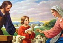 Sagrada família de Jesus, Maria e José