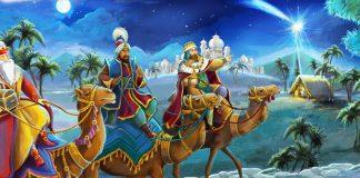 os reis magos viram uma estrela no oriente