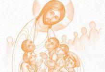 jesus e as crianças na catequese